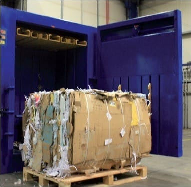 balenpers karton voor grote dozen