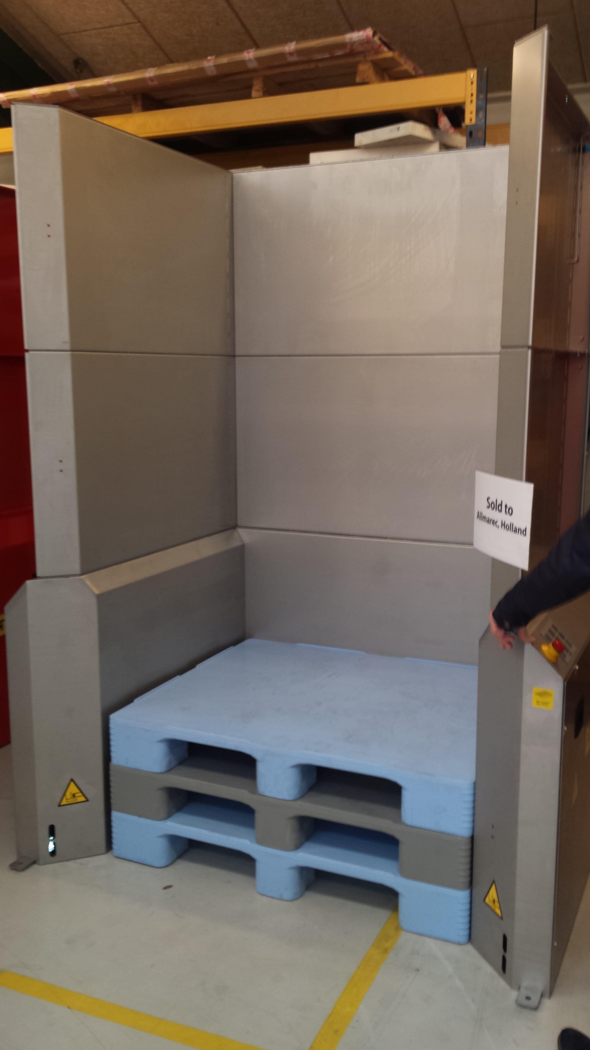 Palletautomaat rvs