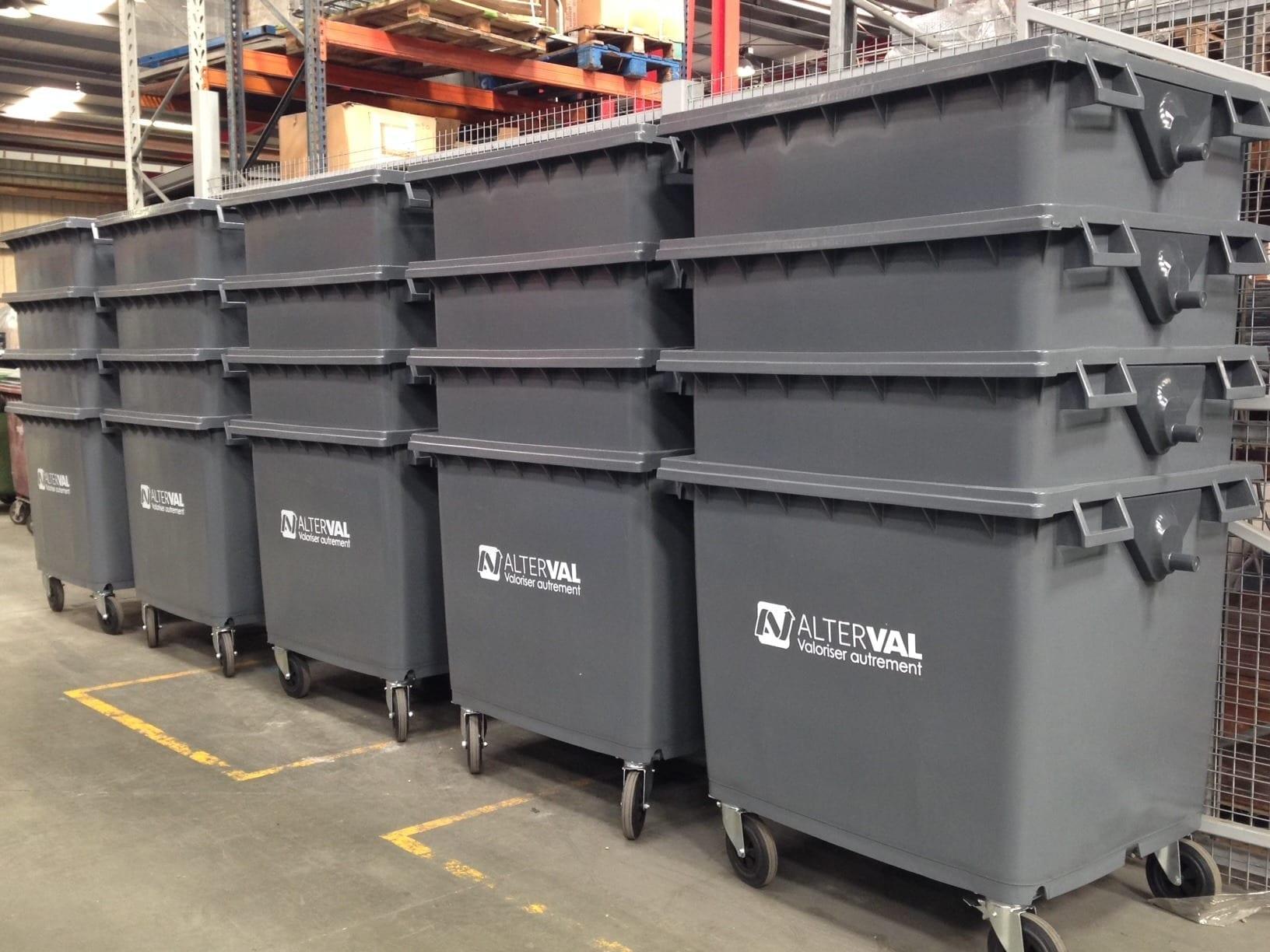 verstevigde container