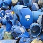 hredder voor plastic vaten