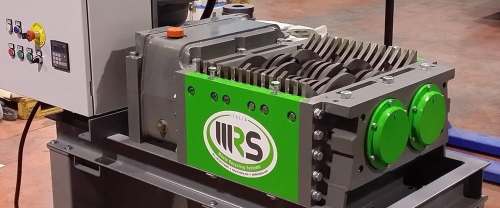 industriële shredder