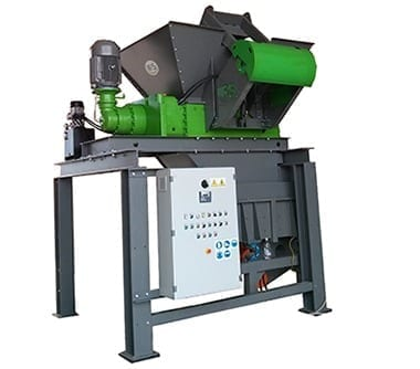 industriele shredder