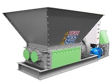 hydraulische shredder