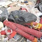 divers plastic afval