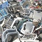 Hard plastic afval