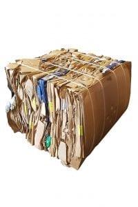 geperst karton 100 kg baal