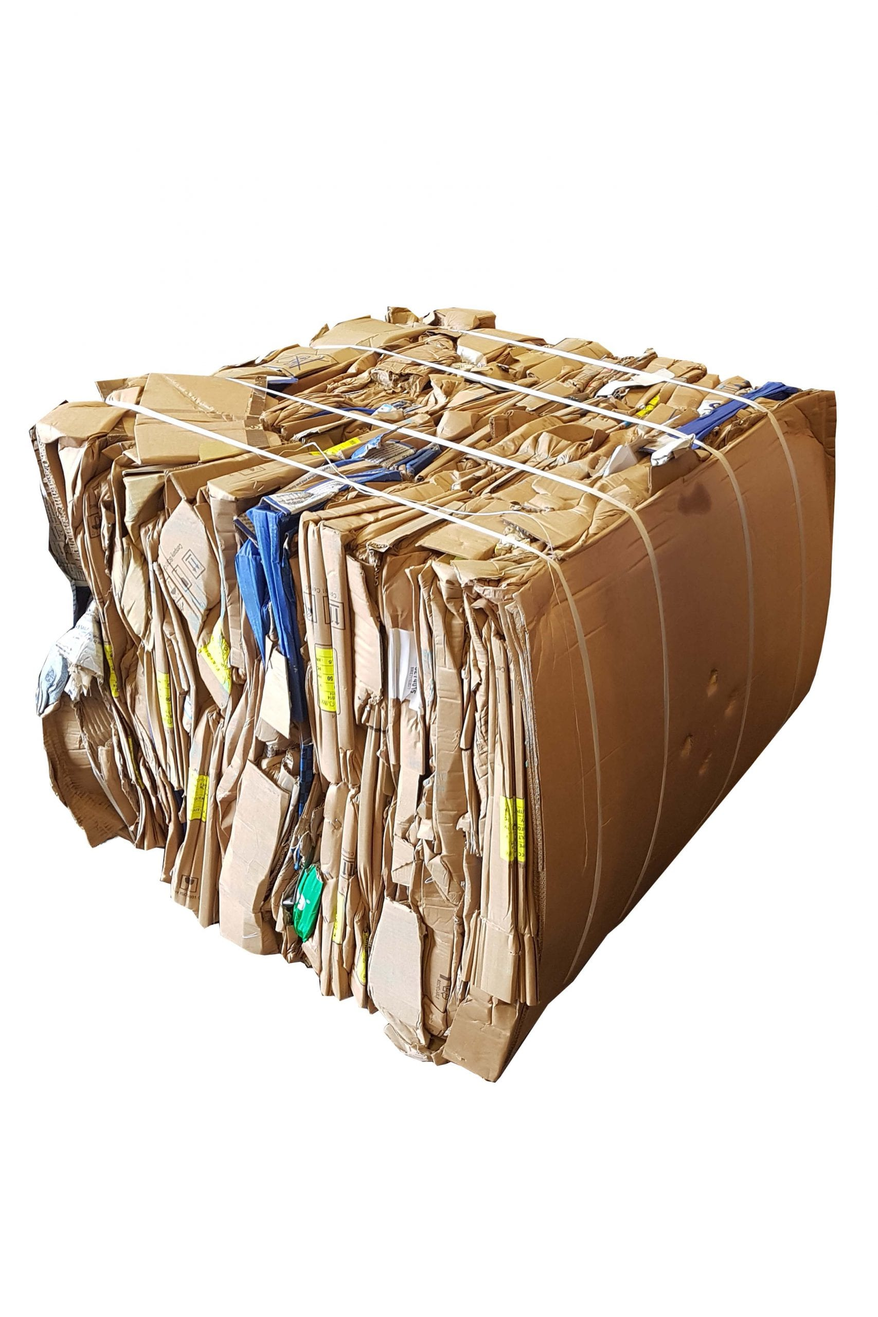 100 kg bale cardboard