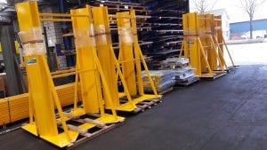 Pallet frame blokpallets